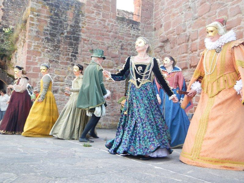 Renaissancefest auf der Hardenburg
